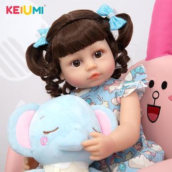 Кукла-младенец KEIUMI 22D116-C327-H37-S31-H162-T12 3