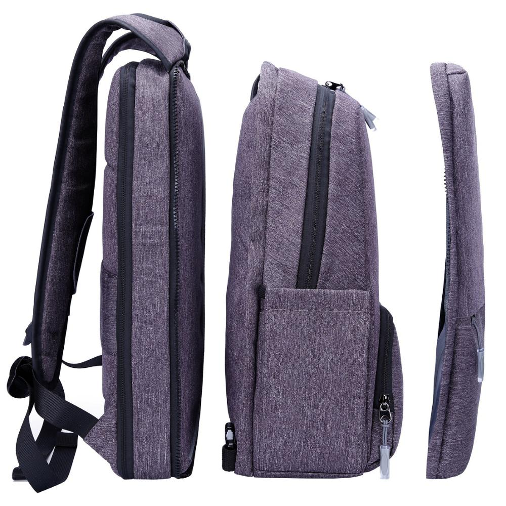 XQXA Portable 15.6 Inch Laptop Backpack Changing Style & Capacity Anytime Women & Men Light Slim Bag For IPad Air 2 / Pro / Mini