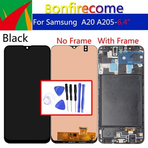 For Samsung Galaxy A20 A205 SM-A205F LCD Display Touch Screen Digitizer Replacement Display screen(China)