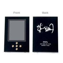 Najnowszy NiceHCK Zishan DSDs podwójny CS43198/ES9038Q2M profesjonalny odtwarzacz muzyczny MP3 DAP HIFI przenośny dekoder sprzętowy 2.5mm zrównoważony