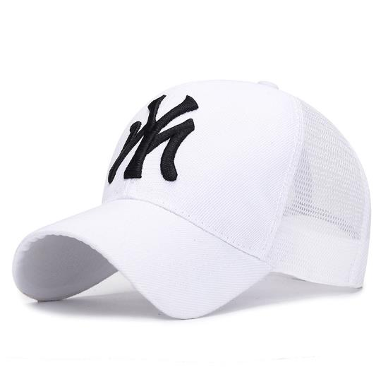 New NY And MY Snapback Trucker Punk Baseball Cap Unisex Adult Cotton Mesh Hat  Hip Hop Cap Summer Fashion Sun-proof Sport Cap
