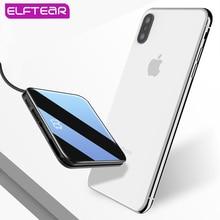 ELFTEAR D72 ミニワイヤレス電源銀行超薄型内蔵 3In1 ケーブル急速充電器 Powerbank ポータブル外部打者 Iphone