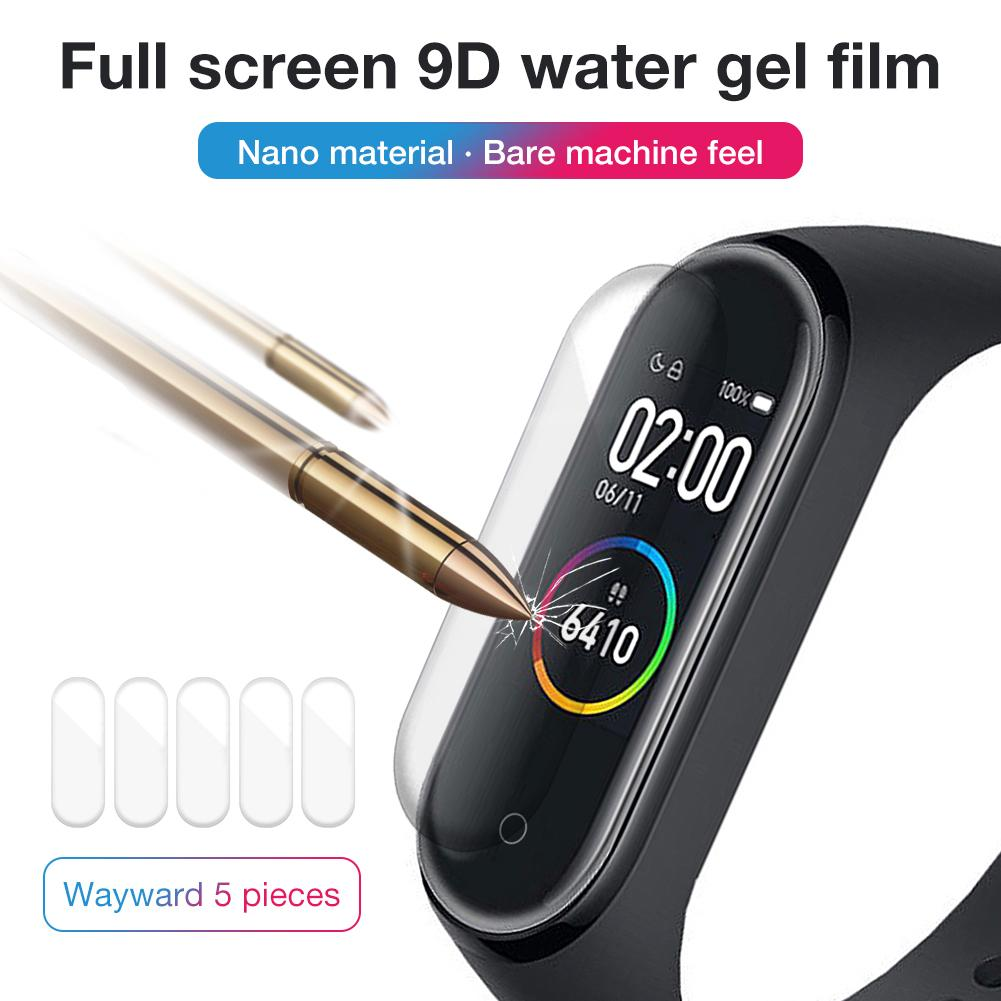 Xiaomi Bracelet Protective Tempered-Film for 4 Full-Screen-Film 3D HD Explosion-Proof