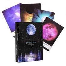 Mais Engraçado! 44 cartões e guia de alta qualidade caixa cor lua aprendizagem oracle cartão atacado entrega rápida dropshipping csv