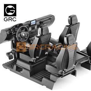 Набор для салона GRC TRX4 / 6 Mercedes-Benz G500 G63 6 × 6, моделирование сиденья с центром управления, модификация G161G