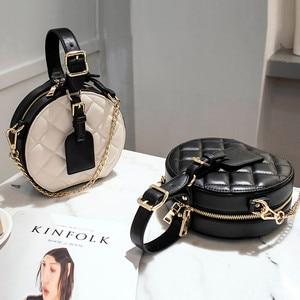 Image 4 - NIGEDUวงกลมผู้หญิงไหล่กระเป๋าเพชรหรูหราออกแบบกระเป๋าถือผู้หญิงMessengerกระเป๋าCrossbodyกระเป๋าTotes Bolsas