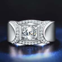 Белый цвета: золотистый серебристый цвет ААА Циркон бриллианты