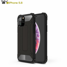 For Case iPhone 11 Pro 2019 Cover for Durable Armor TPU & PC Apple Phone Fundas 5.8