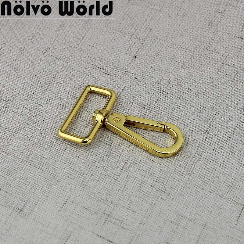 4pcs 30pcs 16mm 38mm Fashion  Hook Webbing Trigger Snap Hook Swivel Clasp Lobster Claws Swivel Hooks Hard Clasp
