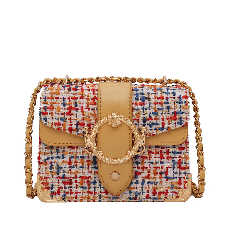 Multicolor Weaving Pu Leather Crossbody Messenger Bags Female Shoulder Bags for Women 2019 Luxury Handbags Women Bags Designer in Shoulder Bags from Luggage Bags