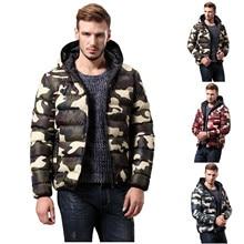 Fashion Men's Coat Autumn Winter Zipper Warm Down Jacket Packable Light Top Quality Coat new Men male Jacket overcoat outwear