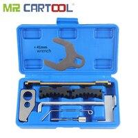 MR CARTOOL 9pcs Engine Camshaft Tensioning Locking Alignment Timing Tool Kit For Chevrolet Alfa Romeo 16V 1.6 1.8 Repair Tool