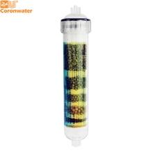 Coronwater IALK 101 Cartucce di Filtro per Lacqua Alcalina Della Cartuccia del Filtro per Acqua Ad Osmosi Inversa di Purificazione