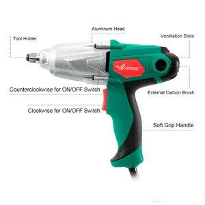 Image 3 - 450W elektryczny klucz udarowy 300Nm Max Torque 1/2 cala gniazdo samochodowe klucz elektryczny zmiana narzędzia opony