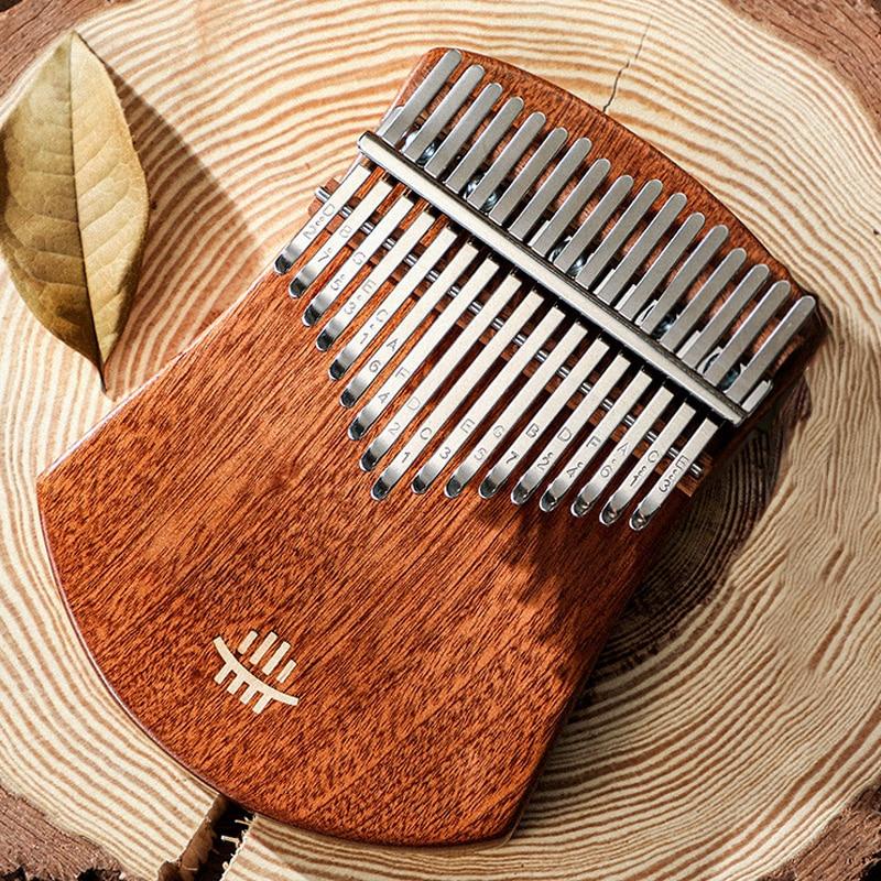 17 клавиш Kalimba большой палец фортепиано высокое качество деревянный Mbira корпус Музыкальные инструменты Kalimba фортепиано креативный Kalimba Рожде...