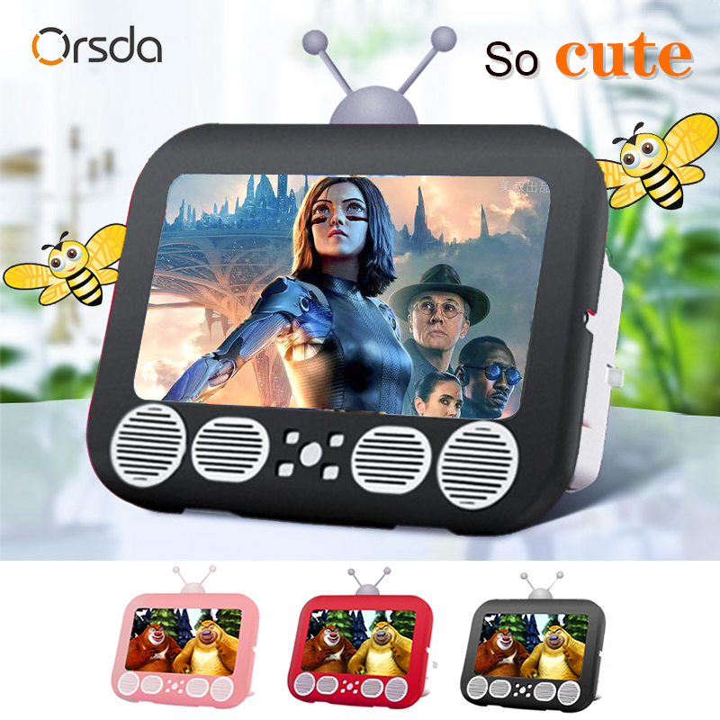 Orsda 12 Inch 3D Mobile TV Screen Magnifier HD Video Amplifier Stand TV Appearance Bracket with Magnifying Glass Movie Games