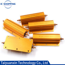 Aluminum Power Metal Shell Case Wirewound Resistor 200W 300W 500W 0.1~10K 0.22 0.33 0.5 2 4 8 20 30 47 50 100 200 300 500 1K 2K