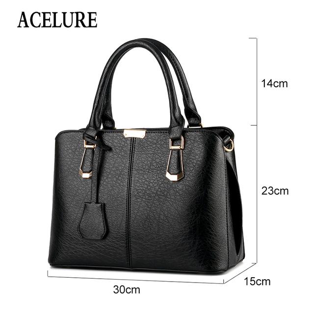 ACELURE Handbag Women Bags Designer Soft Leather Crossbody Bags Ladies Tote Bag Large Capacity Female Shoulder Bag Sac A Main