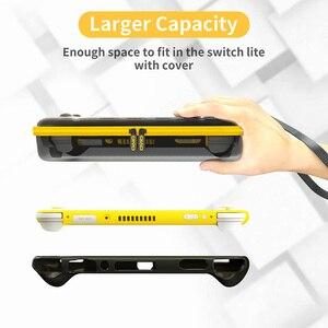Image 3 - Переносная сумка для хранения OIVO Switch Lite, защитный чехол, ударопрочная жесткая защитная сумка, аксессуары для Nintendo Switch Lite
