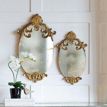Miroir palais Style or sculpté