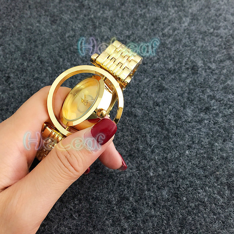 Luxury Hot Sale Ladies Watches Silver Gold Full Steel Quartz Watch Female Clock Montre Femme Relogio Feminino Gift Reloj Mujer
