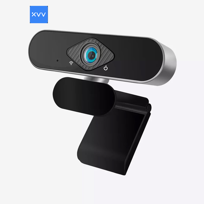 Xiaovv 1080P HD USB Webcam 2 Million Pixels 150     Ultra Wide Angle Auto Foucus ImageClear Sound Multifunctional Web Camera