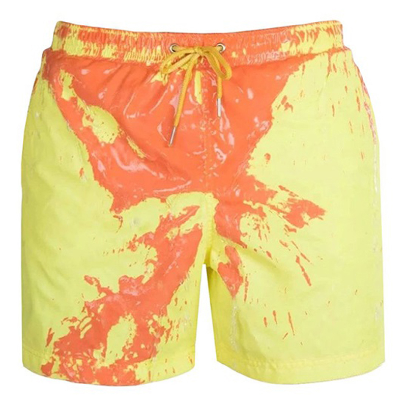 Mens Board Shorts Quick Dry Swimming Running Sports Training Printed Water Sports Shorts Men clothing Beach Shorts for Men