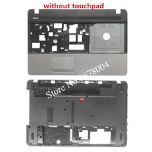 Novo caso capa para acer aspire E1-571 E1-571G E1-521 E1-531 palmrest capa/portátil inferior base capa ap0hj000a00 ap0nn000100