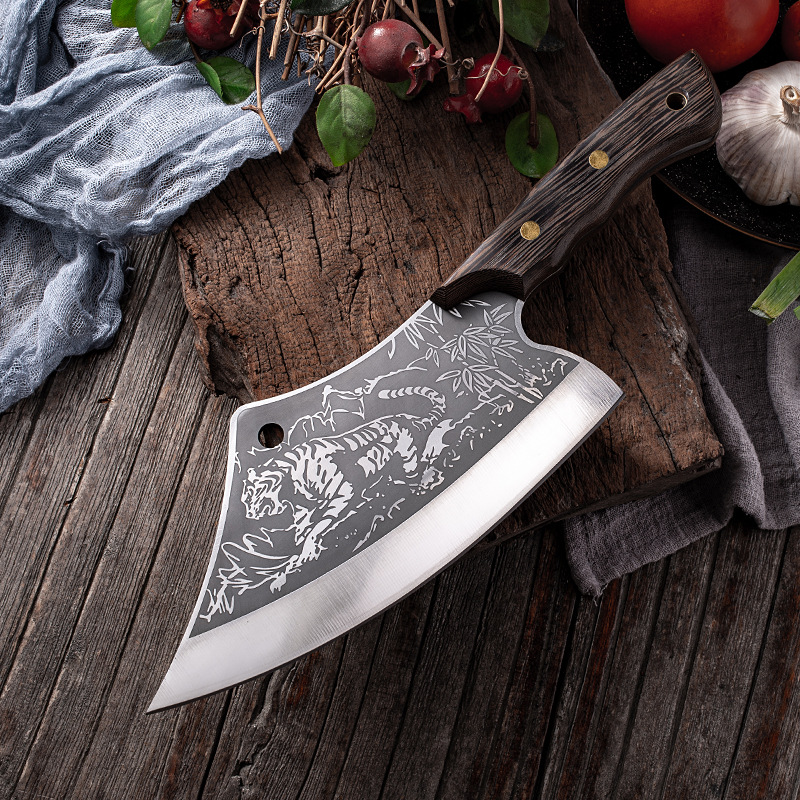 Stainless Steel Tiger Cleaver