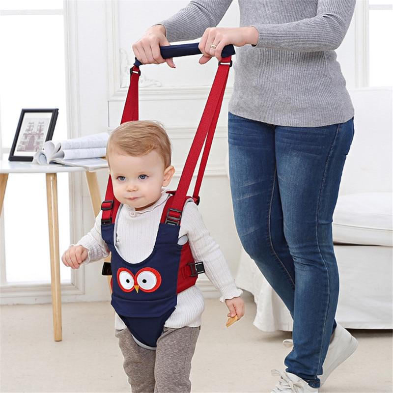 Детский рюкзак для прогулок, поводок для маленьких детей, Детский помощник для обучения, безопасные поводки, ходунки