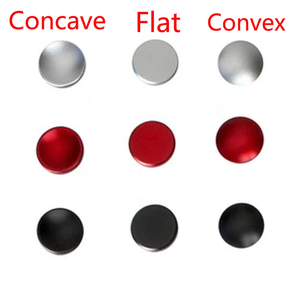 Image 1 - 100 stücke Fensterläden Kamera Auslöser Taste Schwarz Rot Silber Flach Konvexen Konkaven für Canon Nikon Leica für Hasselblad Fuji