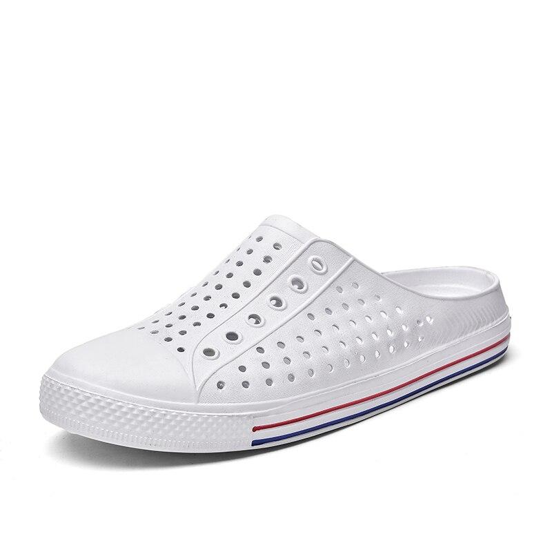 2020 Women's Sandals crocse Girl Sandals Summer Women Casual Jelly Shoes Sandals Hollow Out Mesh Flats Men Beach Sandals