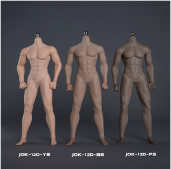 """1//6 Male Seamless Action Figure Model body Fit 12""""Phicen TBLeague Hot Toys Head"""