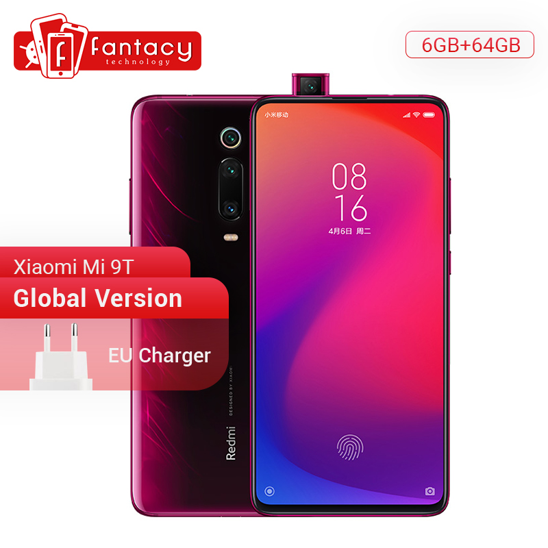 In Stock Global Version Xiaomi Redmi K20 Xiaomi Mi 9T 6GB 64GB Snapdragon 730 Octa Core Smartphone 48MP Camera 18W Quick Charge