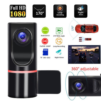 ADAS Dash Camera Car DVR Camera Recorder Driving Video Recorder For Android Car Radio USB Support TF Card Motion Detection