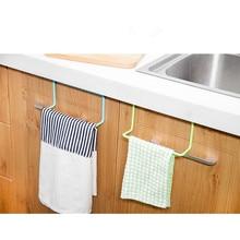 Kitchen bathroom towel rack rag rack bathroom cabinet cupboard door ha