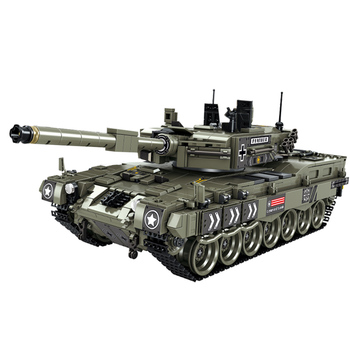 1747Pcs WW2 Swat Germany Panther Tank Weapons Small Particle Building Blocks Educational Toy Set  Block Assembly Toys Kids Gifts