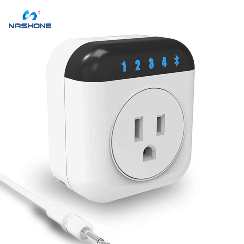 Nashone Smart Thermostat 220V Temperature Controller Bluetooth Smart Plug App Remote Control Socket With Timing  And Countdown