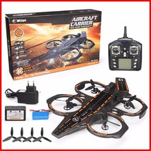 цена на Original WLtoys Q202 Carrier Aeroamphibious 6 Axis Gyro 2.4G 4CH RC Quadcopter RTF Sea And Air RC Drone RC Toy Gifts