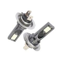 2pcs/set H7 Car LED Headlight Kit 50W 14000LM FOG Lights Bulbs 6000K Driving DRL Lamp IP68 Light
