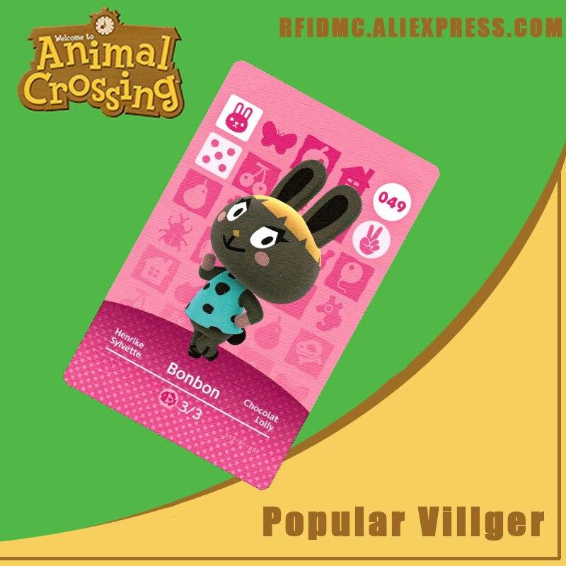 049 Bonbon Animal Crossing Card Amiibo For New Horizons