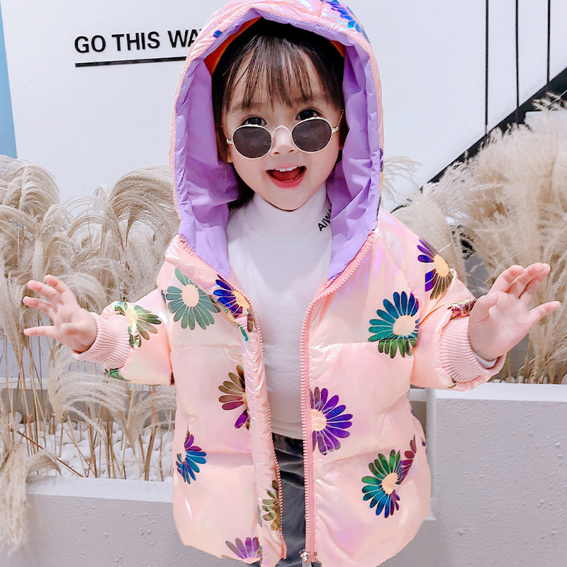 Daisy Children's Down Jacket Korean-Style Baby Girl's Warm Coat New Autumn and Winter Products Kids Winter Coats Girls Clothes