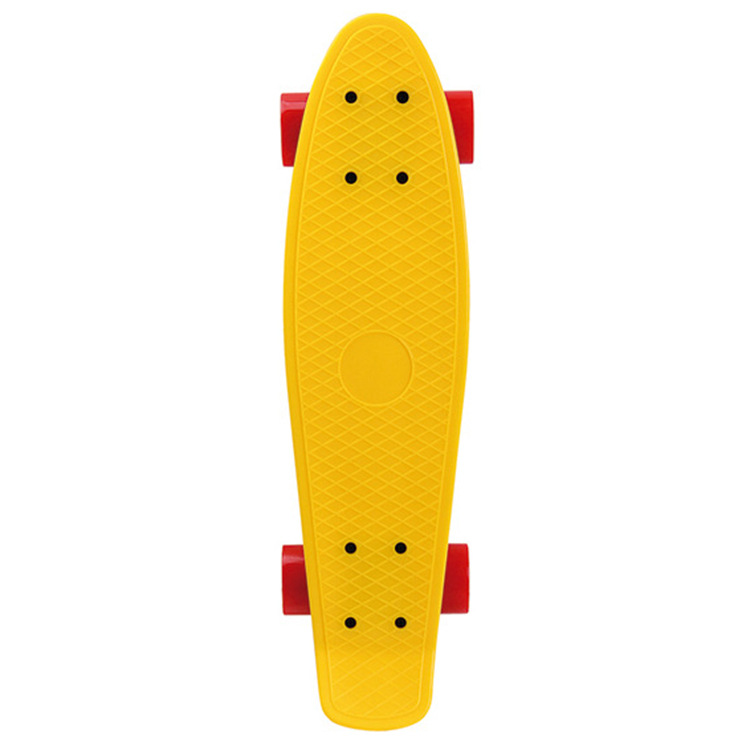 Kunststoff Fisch Skateboard Vier Rad Kunststoff Große Fisch Skateboard Erwachsene Beruf Skateboard PP27 Inch Fisch Boards Hersteller D