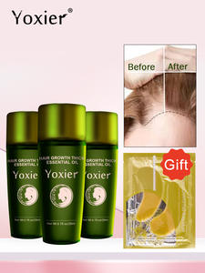 Yoxier Hair-Care-Products Hair-Growth-Essence 3pcs Oil-Effective-Extract Treatment-Preventing