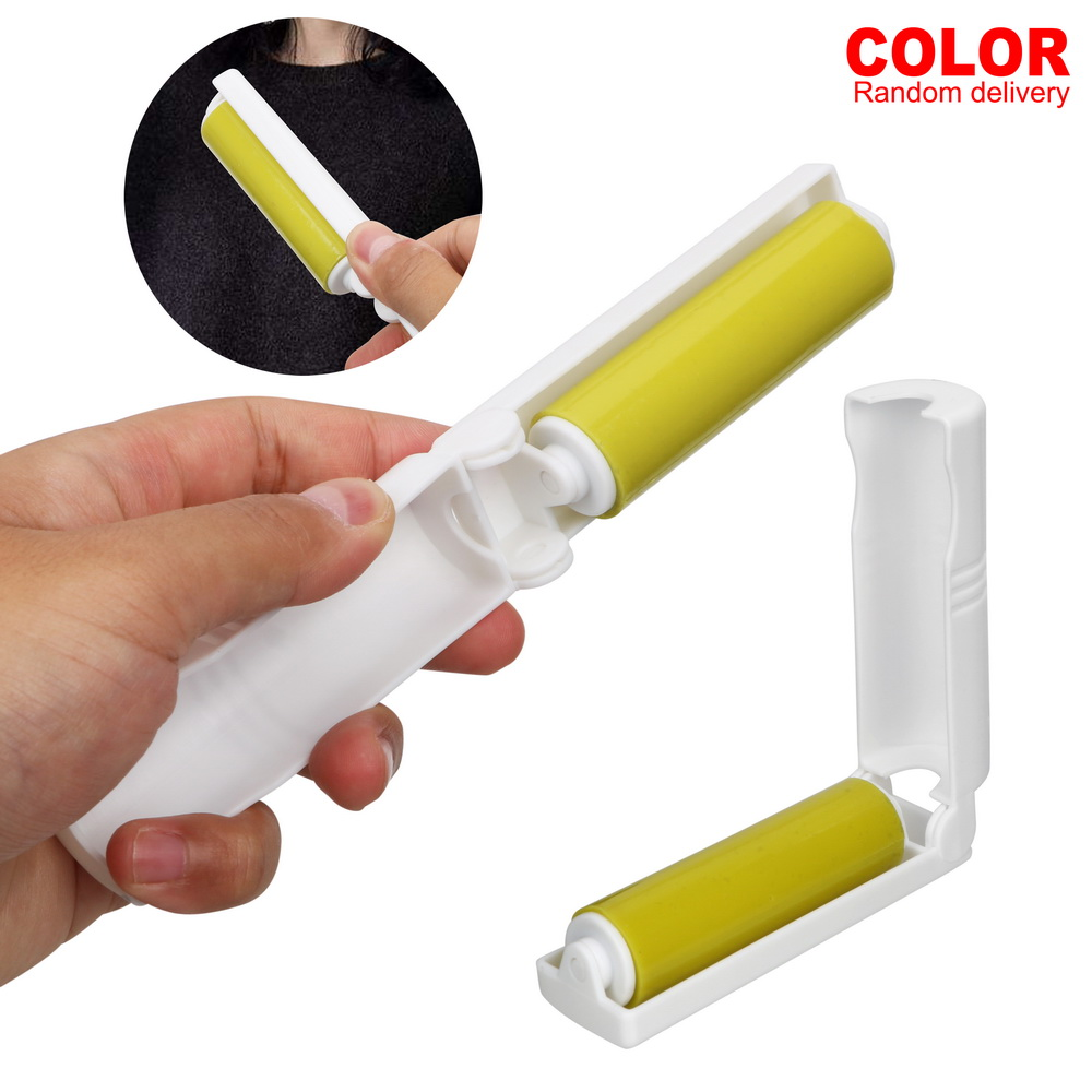 NICEYARD Washable Dust Removal Brush For Wool Sheets Hair Clothes Fluff Dust Catcher Dust Lint Roller With Cover Random Color