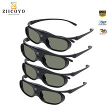 Original Shutter 3D Glasses DLP-Link Liquid Crystal Rechargeable Virtual Reality LCD Glass for XGIMI H1/ H2/ Z6/ CC Aurora(China)