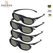 Orijinal obtüratör 3D gözlük dlp link sıvı kristal şarj edilebilir sanal gerçeklik için LCD cam XGIMI H1/ H2/z6/CC Aurora