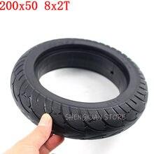 200x50 pneu sólido 8x2t para speedway mini 4 pro roda traseira 8 Polegada scooter elétrico pneu ruima mini 4 pro pneu traseiro