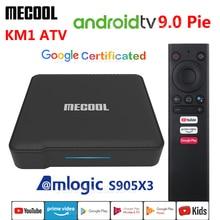 MECOOL KM1 ATV Amlogic S905X3 Android 9.0 TV BOX 4GB RAM 32G