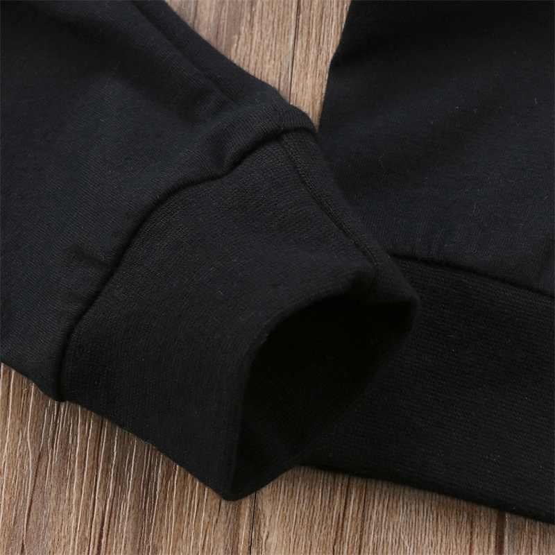 ฤดูใบไม้ร่วงฤดูหนาวทารกแรกเกิดเด็กชายหญิงกางเกงพิมพ์จดหมาย BOSS ผ้าฝ้าย Harem กางเกง Casual กางเกง Pantalones